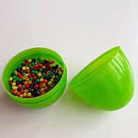 Крупные шарики орбиз премиум-качества, упакованные в цветное пластиковое яйцо, 23г, фото 1