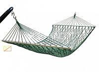 Гамак для отдыха двухместный , сетчатый плетенный гамак 3603