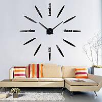 Часы большие  настенные лодочка, пуля, овальные черные
