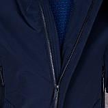 Чоловіча демісезонна куртка, синього кольору, фото 6