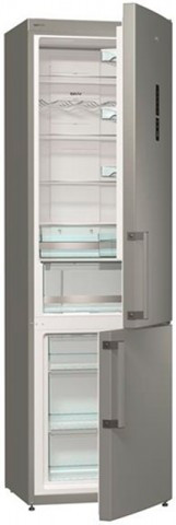 Двухкамерный холодильник Gorenje NRK6202MX