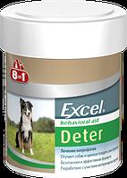 """Таблетки от поедания фекалий для щенков и взрослых собак """"Excel Deter"""" (100 таб), 8in1"""