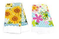 Кухонное полотенце Цветы, 2 вида