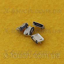 Роз'єм micro-USB B BF 5pin без бортика