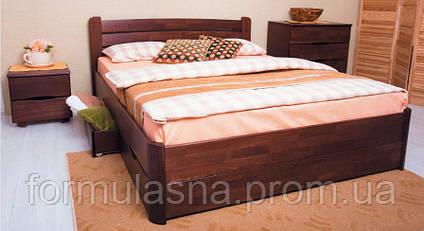 Кровать деревянная Олимп София с ящиками, фото 2