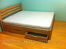 Кровать деревянная Олимп София с ящиками, фото 3