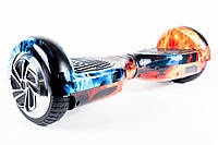 "Гироскутер / Гироборд Smart Balance Elite Lux 6,5"" Огонь и Лед + Сумка +Баланс (Гарантия 12 Месяцев)"