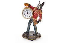 Декоративная фигура с часами Собака 45см