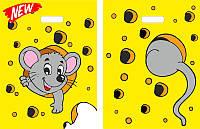 Пакеты полиэтиленовые типа банан 30 х 40 см / (уп-25шт)