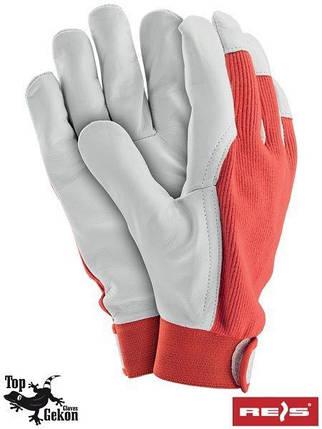 Перчатки защитные RLTOPER-REVEL, изготовленные из высококачественной козьей кожи -REIS, размер 10, фото 2