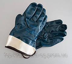 Перчатка Hycron нитрил, жесткий манжет