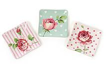 Тарелочка керамическая Розы, 3 вида