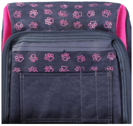 передний карман школьного рюкзака