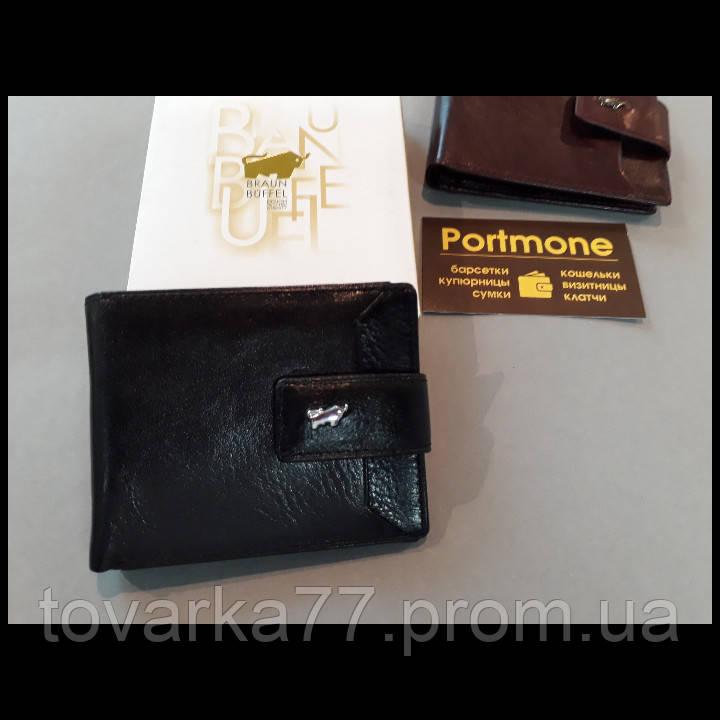 9e0c9d3b5101 Мужской кожаный кошелек Braun buffel на застежке черный: продажа ...