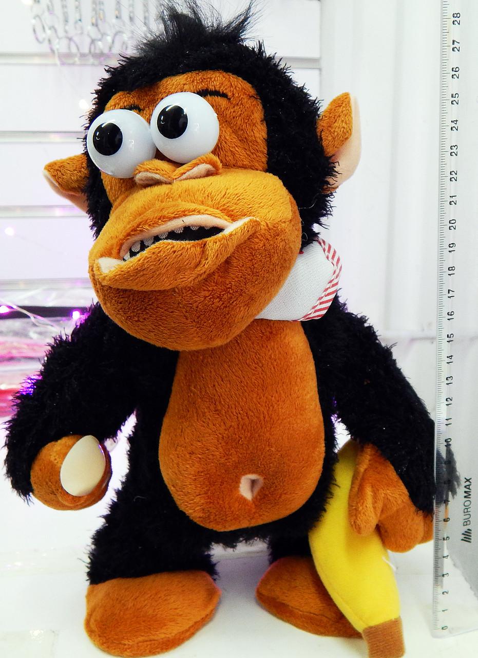 Интерактивная обезьяна. Поет, танцует.