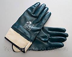 Перчатка BORIN нитрил, жесткий манжет