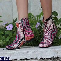 Ботинки (36-42) ткань купить оптом и в Розницу в одессе 7км