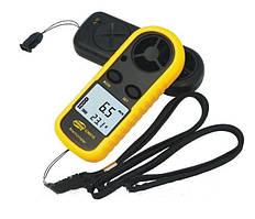 Цифровой анемометр Benetech GM-816 (0,7 - 30 мс) (шаг измерения - 0,1мс) с измерением температуры