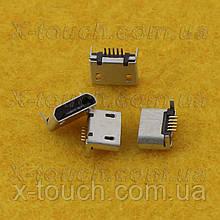Роз'єм зарядки micro-B USB 5pin без бортика