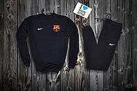Спортивный футбольный костюм Nike barcelona logo | black