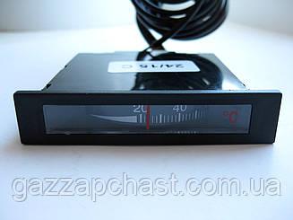 Термометр капиллярный прямоугольный 62х11,7 мм, 0-120ºС (022124)