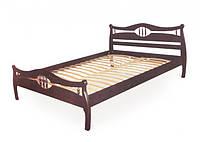 Кровать Корона-2 дуб 120х200