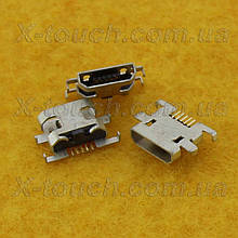 Sony Xperia M разъем зарядки  micro-B USB 5pin