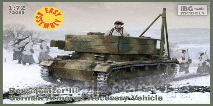 Bergepanzer III 1/72 IBG 72059