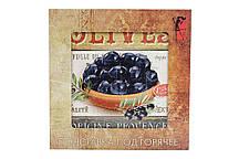 Подставка под горячее квадратная 20см Olives