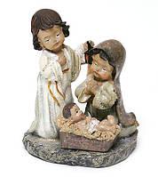 Різдвяна Декоративна статуетка Вертеп 11.3 см