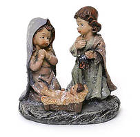 Різдвяна Декоративна статуетка Вертеп 8.2 см