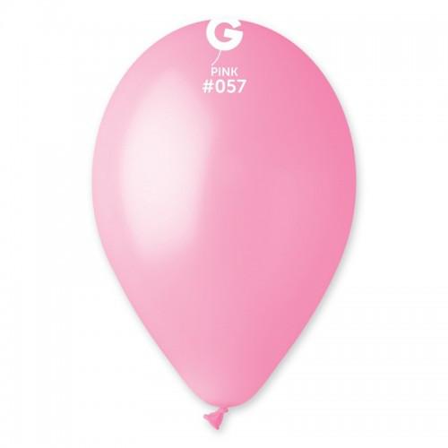 """Повітряні кулі рожевий пастель 8"""" (21 см) Джемар"""