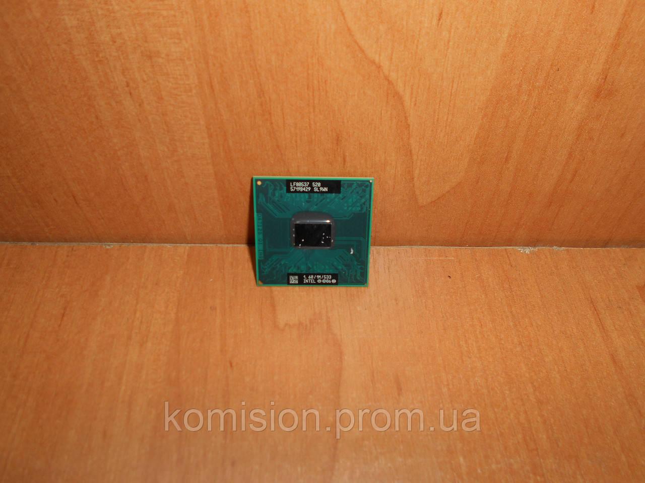 Процессор INTEL Celeron M 520 1,6 GHz