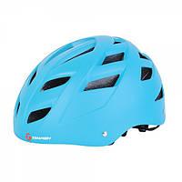 Защитный шлем Tempish Marilla синий для роллеров и скейтеров / с регулируемым ремешком