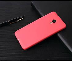 Чехол Бампер Style для Meizu M6s силиконовый красный