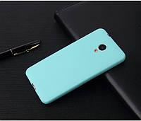 Чехол Бампер Style для Meizu M3/ M3s / M3 mini силиконовый голубой