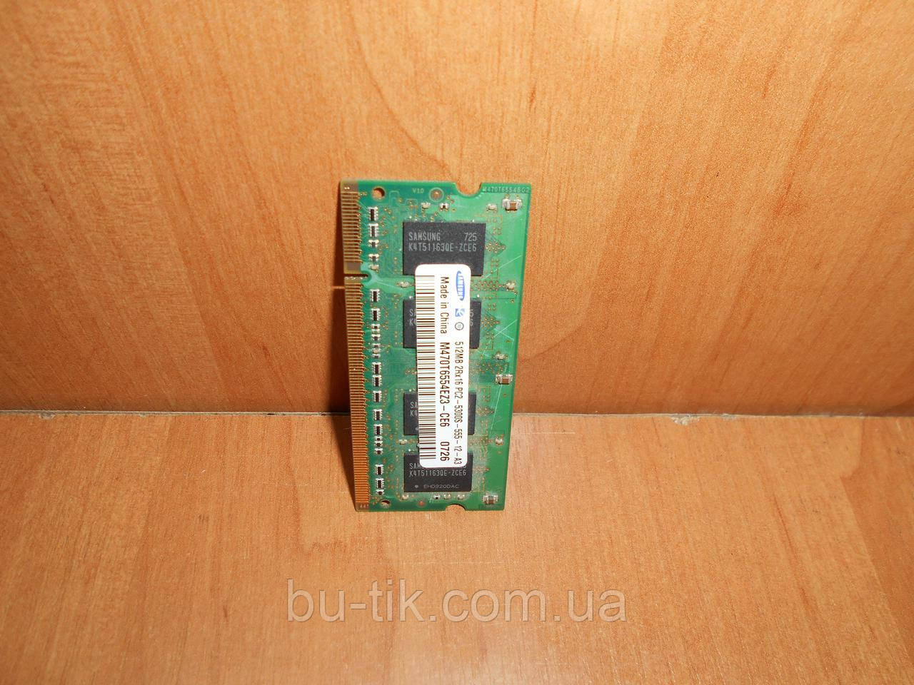 Модуль памяти Samsung DDR2 512 Mb для ноутбука