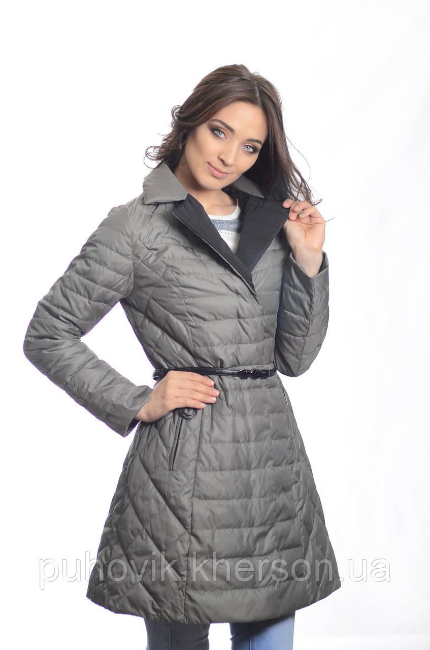Куртка женская деми Meajiateer M1819 хаки -