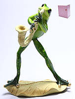 Декоративная статуэтка Лягушка 17.5см