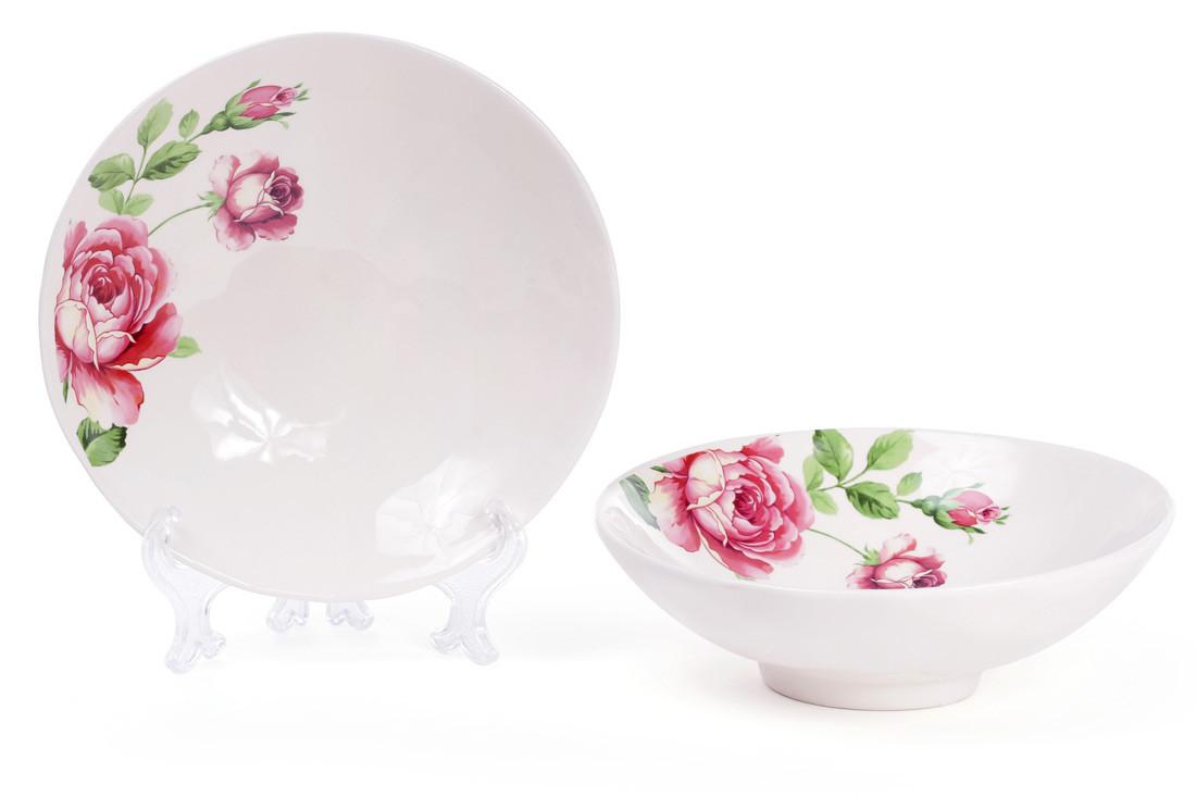 Салатник керамический Розы