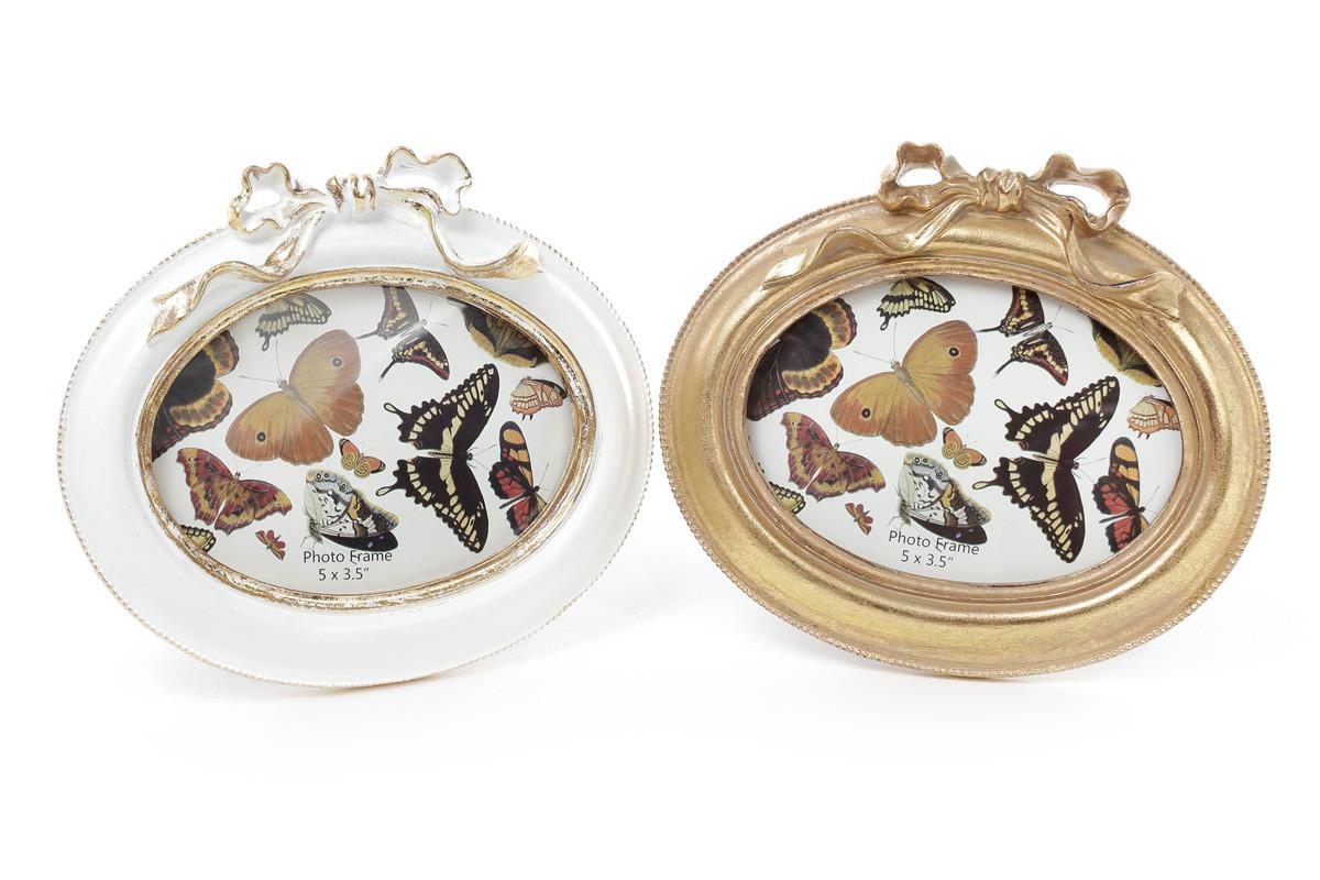 T Рамка для фото 16.5*14.5см Бант, цвет - состаренное золото в подарок (при заказе от 3000 грн)