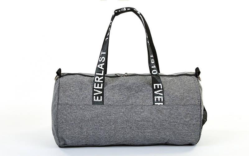 00be5f3f94dc Спортивная сумка-бочонок EVERLAST GA-0155-GR серая, цена 390 грн., купить в  Киеве — Prom.ua (ID#677435133)