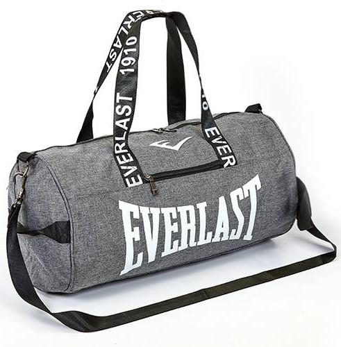 3f417b08f0e0 Спортивная сумка-бочонок EVERLAST GA-0155-GR серая - CrazySport в Киеве