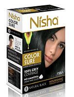 Безамиачная стойкая крем-краска для волос TM Nisha с маслом авокадо 40 мл