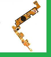 LG E610, E612, Optimus L5 Шлейф с разъемом зарядки, с кнопкой меню и микрофоном