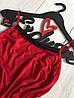 Соблазнительный красный пеньюар из нежной вискозы, фото 2