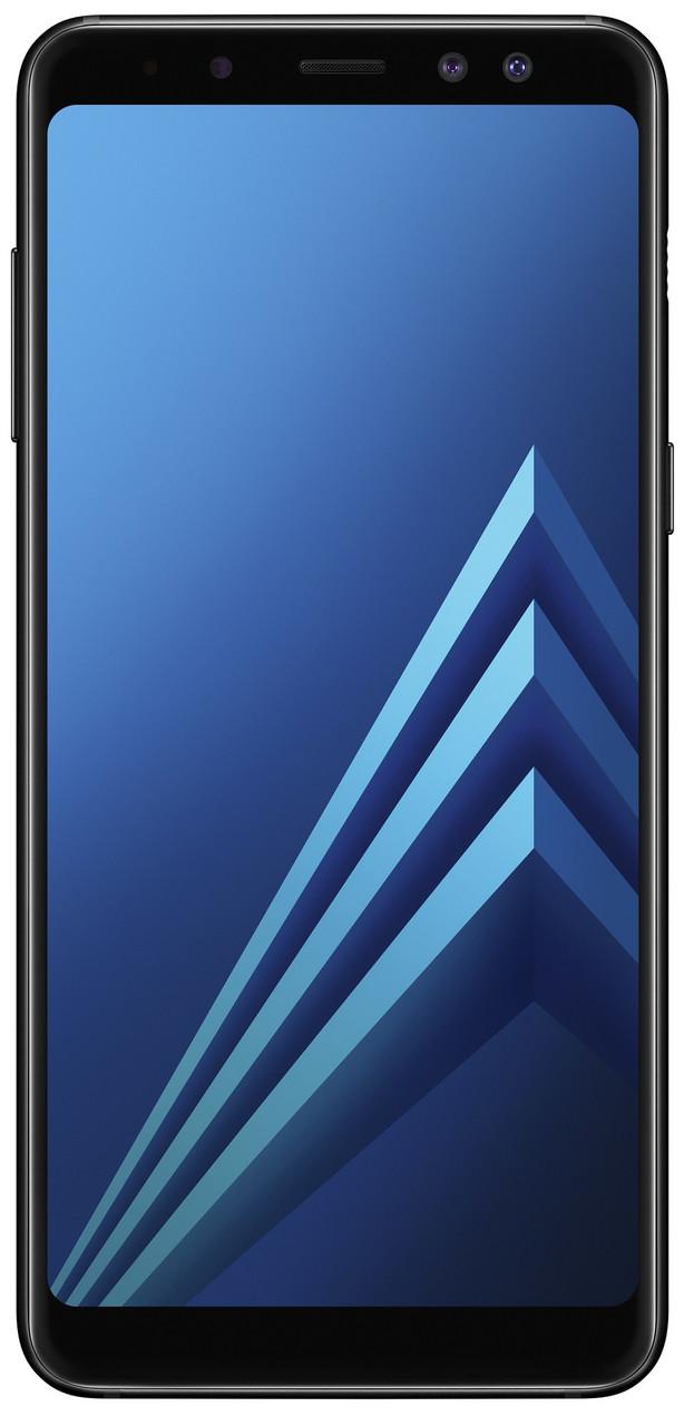 "Смартфон Samsung Galaxy A8+ 2018 (SM-A730FZDD) Black, 4/32Gb, 8 ядер, 16/16+8Мп, 6"", 2 sim, 4G, 3500мАh."