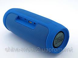 JBL Charge 4 E4+ 16W копія, портативна колонка з Bluetooth FM MP3, синя, фото 2