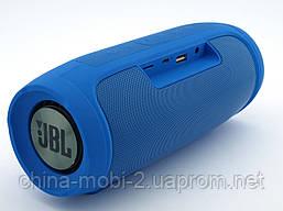 JBL Charge 4 E4+ 16W копія, портативна колонка з Bluetooth FM MP3, синя, фото 3
