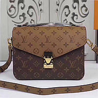 Сумка Louis Vuitton, Pochette Metis, White Monogram, кожаная, Луи Витон 3d8c8d0cb83